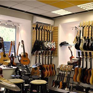 Музыкальные магазины Гиагинской