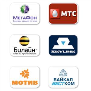 Операторы сотовой связи Гиагинской